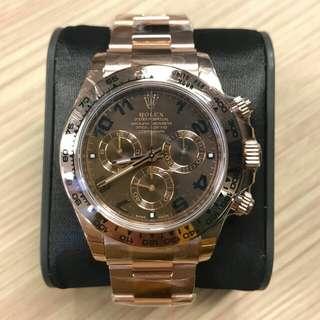 Rolex 116505 Choco