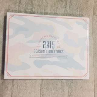 [WTS] BTS 2015 Season's Greetings