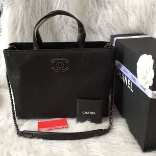 Chanel Box Type Tote Bag