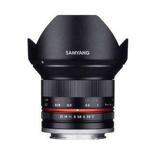 Samyang 12mm f2 NCS CS Lens (Canon EOS M, Fujifilm X, M4/3, and Sony E Mount)