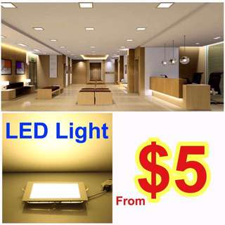 LED Slim Downlight Panel Ceiling Light 6W 9W 12W