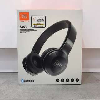 JBL E45 BT HEADPHONES BLACK