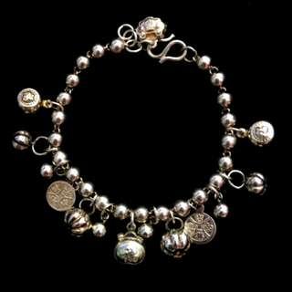 925純銀吊飾手鍊