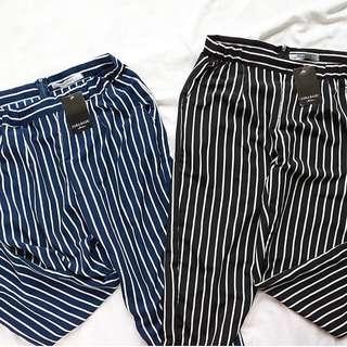 Stripe pants zarra