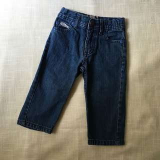 Charity Sale! Authentic Piping Hot Denim Jeans Baby Girl Size 1 Pants