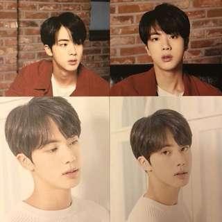 BTS 防彈少年團 Mediheal Postcard Jin Set