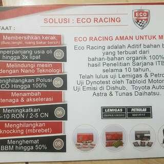 Penghemat bbm merk eco racing