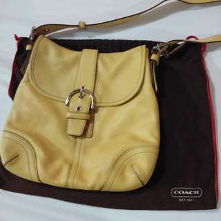 Authentic Coach Sling Bag (preowned)