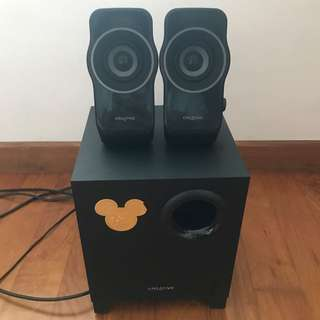 Creative speakers A320 with subwoofer