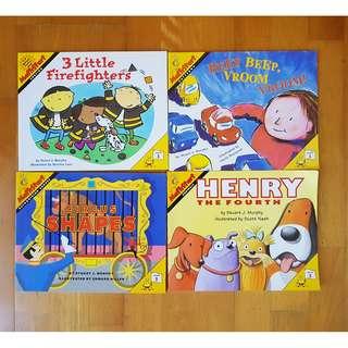 Math Starts book by Stuart J Murphy - Level 1