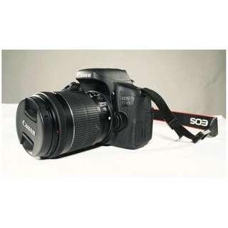 Canon EOS 750D 18-55mm Kamera DSLR Kredit 30menit
