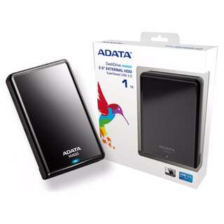 ADATA External hard drive | 1TB /2TB | USB 3.1 | HDD | Harddisk | Portable HDD