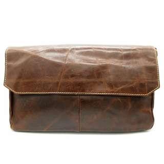 The Ninja Co. Messenger Bag Top Grain Leather Shoulder Sling Crossbody Bag Office Work School Handbag Business Corporate Gifts Men Women Birthday NB 8802