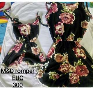 Mother and daughter romper set