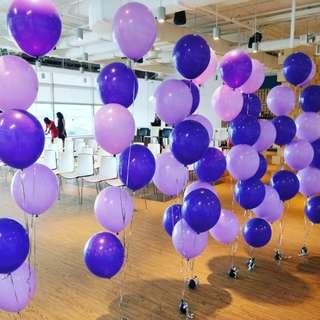 Cluster 6 helium balloon