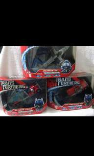 Transformers the movie:voyager class otpimus prime,first strike optimus prime and incinirator