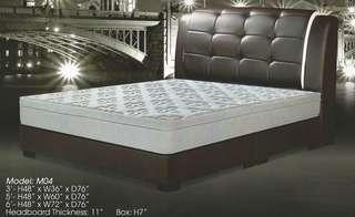 queen size divan bed model - M04