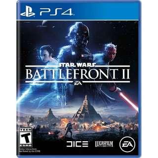 Ps4 Star Wars Battle Front II
