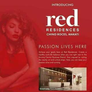 SMDC Red Residences @ Chino Roces, Makati City For Sale