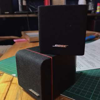 Bose Jewel Cube Speakers