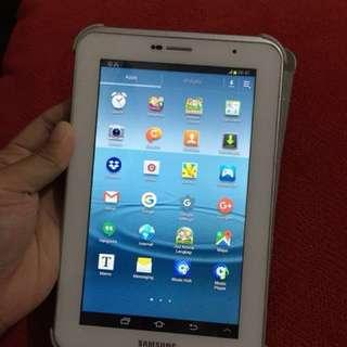 Tablet samsung GT P3100 MULUS PEMAKAIAN WANITA