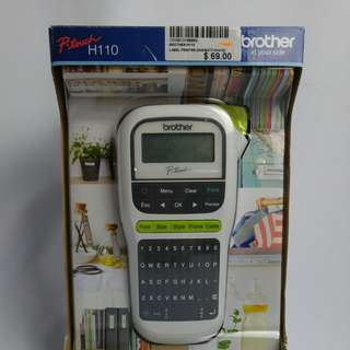 Brother label printer P-touch H110