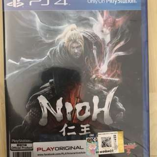 NIOH PS4 GAME - NEW!