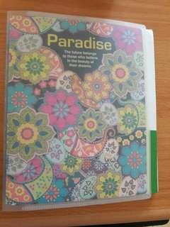Preloved Binder Paradise (Ga Include Isi)