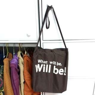 🚚 文青風格 單肩背包 購物包