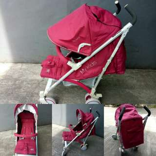 Stroller baby does