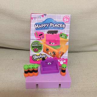 (FREE) Brandnew Authentic Shopkins Happy Places Halloween set B