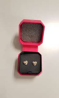 全新正貨Juicy Couture 心型耳環