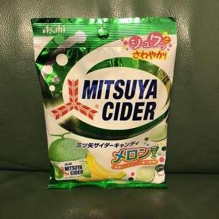 全新 日本Asahi蜜瓜cider糖