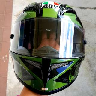 AGV HELMET T-2 good condition..Swap with Arai open face.