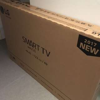 LG 49LJ55 Smart TV FHD