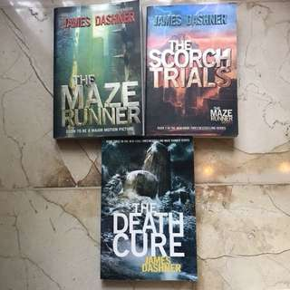 (ENGLISH) MAZE RUNNER SERIES BY JAMES DASHNER