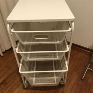 3-Tier storage rack