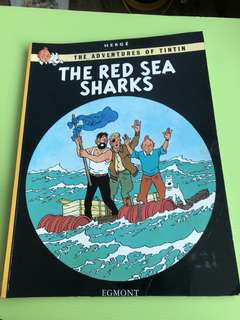 Adventures of tintin the Red Sea sharks