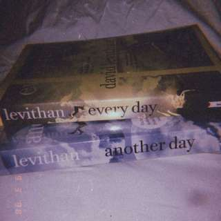 (RUSH!!!) Pre-loved books Everyday and Another day by David Levithan