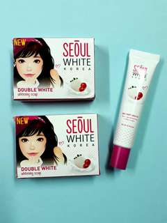Double White Whitening Soap and Tone-Up Cream