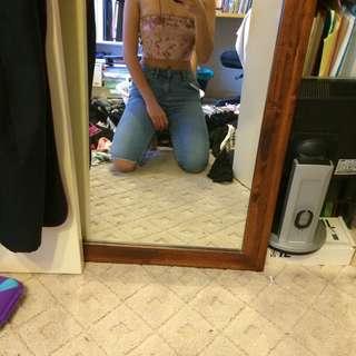 ksubi light wash blue jeans