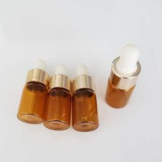 Amber Serum Mini Bottle Dropper