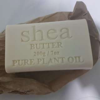 Shea Butter Soap Block 200g