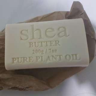 Shea Butter Soap Block 200g