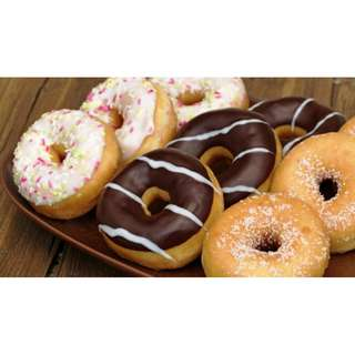 Wajan Cetakan Donat Adonan Cair Donut Maker Pan 6 Holes