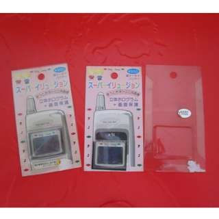 Sanrio Patty&Jimmy 手提電話保護貼兩個