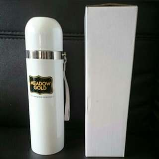 Meadow Gold Vacuum Flask