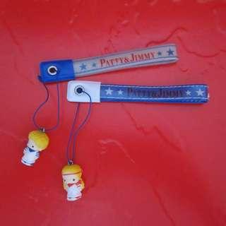 Sanrio Patty&Jimmy 電話繩一對