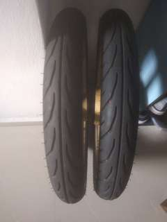 """TT900 80/80 18""""inch Tyre Front and Back"""