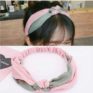 SALE - Headband Wide Edged Knot Terlaris